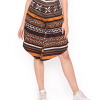 MOSIRU Celana Kulot Batik Wanita Katun Stretch Termurah 30100090