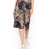 MOSIRU Celana Kulot Batik Wanita Katun Stretch Termurah 30100097