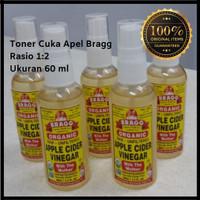 Toner Cuka Apel Bragg Apple Cider Vinegar 60 ml 1:2 Normal & Jerawat