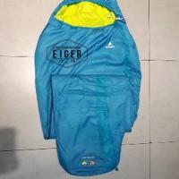 LIMITED Sleeping Bag Mummy Eiger Sleep sack Art 910003700 exercis