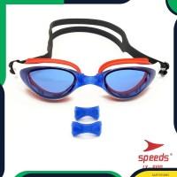 Kacamata Renang Dewasa Anti UV Fog Mirrored LX 6100 Bukan Ruihe