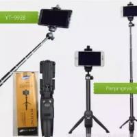 Tongsis Tripod Bluetooth 3in1 Yunteng YT 9928