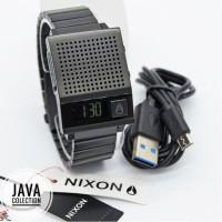 Jam Tangan Pria Original Nixon A1267001 Dork Too All Black