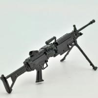 LittleArmory [LA046] 5.56mm Machine Gun 1/12 Plastic Model