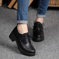 Sepatu Heels Boots Wanita GIBSON REALPICT Women Shoes Sol Docmart