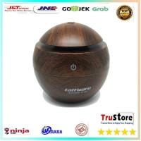 Aromatherapy Air Humidifier Desain Kayu lampu LED difuser