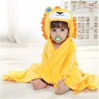 Selimut Bayi Fleece Carter Dengan TOPI | Baby Blanket with Hat