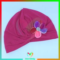 turban bayi - turban bunga