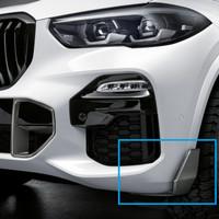 Original BMW G05 X5 G06 X6 M Performance Carbon Front Winglet Splitter