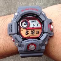 Jam Tangan Pria Casio G-Shock GW-9400KJ Grey JDM Rangeman Ori BM 9400