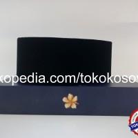 Peci Songkok Kopiah Hitam SUDEMALA BASIC Dewasa tinggi 9