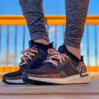 Adidas UltraBOOST 19 Dark Pixel Premium Original / Sneakers