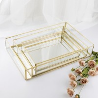 Rectangle tray LARGE - makeup organizer - cosmetic storage