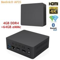 "Beelink AP35 Intel J3355 Apollo Lake Mini PC 4/64GB 2.5""HDD Sata Win10"