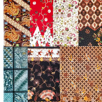 Kertas kado batik ulang tahun / natal / wrap gift bungkus kado TEBAL