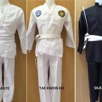 DISKON Baju Karate Taekwondo Silat Anak Dewasa last stok