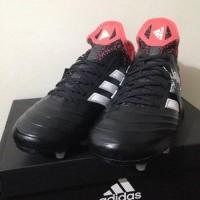 TERLARIS Sepatu Bola Adidas Copa 18 1 FG Core Black Coral CM7663