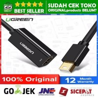 UGREEN KABEL MINI DISPLAY PORT TO HDMI MACBOOK AIR PRO CONVERTER LCD