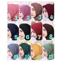 Jilbab Instan Segi Empat Casual