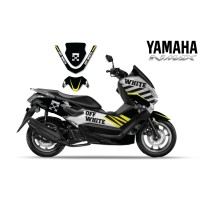 DECAL STICKER MOTOR YAMAHA NMAX OFF WHITE