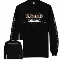 Kaos Tauhid Dakwah / Kaos Khalid Bin Walid / Kaos Premium