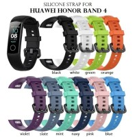 Silicone Sport Strap Watch Band for HUAWEI HONOR BAND 4 Tali Jam