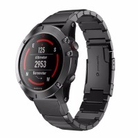 Garmin Fenix 5X 3HR 3 HR Stainless Steel Strap Band Easy Fit Quick Fit