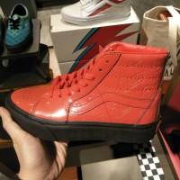 Vans x David Bowie sk8 hi original authentic sneakers old skool sepatu