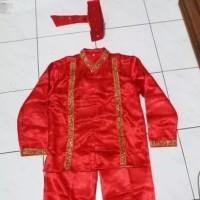 Pakaian Adat Makassar Pria - Baju Bodo (Anak-anak)