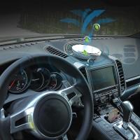 Ionizer Mobil Pembersih Udara 4-In-1 Penyaring HEPA Menghilangkan Debu