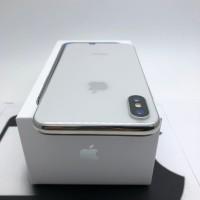 iphone x ten 64gb silver second fullset