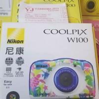 Nikon Coolpix W100 Underwater Garansi Resmi