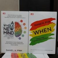 Buku A Whole New Mind Pengguna Otak Kanan & When By Daniel H Pink