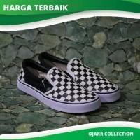 Vans Slip On Checkerboard Grade Ori Pria Cowo Murah Grosir - Corak