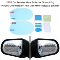 Anti Fog Film OVAL 10x15 / Pelindung Spion Kaca Mobil Anti Blur Saat H