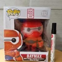 mainan action figure Baymax armor Big hero 6 funko pop recast 112 Ting