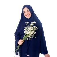 Eksklusif Jilbab non pet syari original Mahriza free cadar