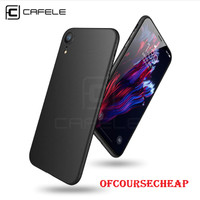CAFELE ORIGINAL IPHONE XR SEMI HARDCASE PP ULTRA THIN CASE