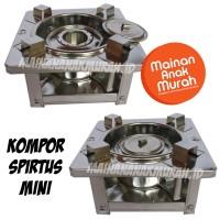 Kompor Spirtus Mini / Kompor Mainan Spiritus Mini Portable Berkemah