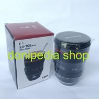 Gelas Unik Bentuk Lensa Kamera DSLR - Kado Hadiah Lucu