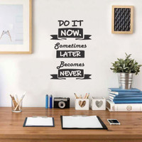 Wall Sticker A4 Quotes Do It Now Stiker Cutting Sticker