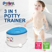 Puku Baby Potty Trainer 3in1 - 17406 [ 10 Month - Up ]