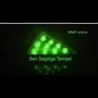 Modif motor/ aksesoris motor mobil/ Lampu Sen Ninja Model Segitiga /