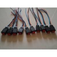 Modif motor/ aksesoris motor mobil/ Saklar on off Mini 3 Kabel