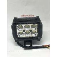 Modif motor/ aksesoris motor mobil/ Lampu Tembak Cree Work 2Mode 6led