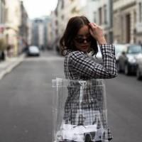 Tote bag transparant trendy