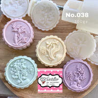 038- 100gr Cetakan Kue Bulan Mooncake Cookies Cake