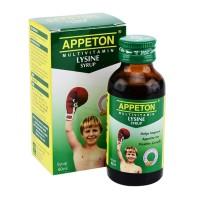 Appeton Lysine Syrup 60ml Untuk menambah tinggi dan berat badan anak