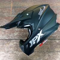 Helm JPX cross Hitam doft /Matt black