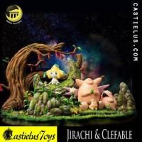 PRE ORDER Jirachi Clefa Clefairy Clefable Diorama Pokemon Go